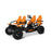 BERG BERG Gran Tour Off-Road 4-Seater Family Ride On Pedal Kart 29.07.30.01