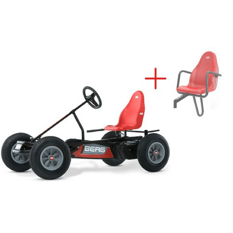 BERG Basic BFR Kids Ride On Pedal Kart - Red - Kids Car Sales