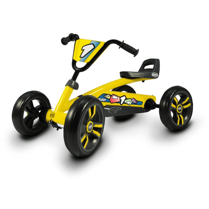BERG Buzzy Yellow Kids Pedal Kart - Kids Car Sales