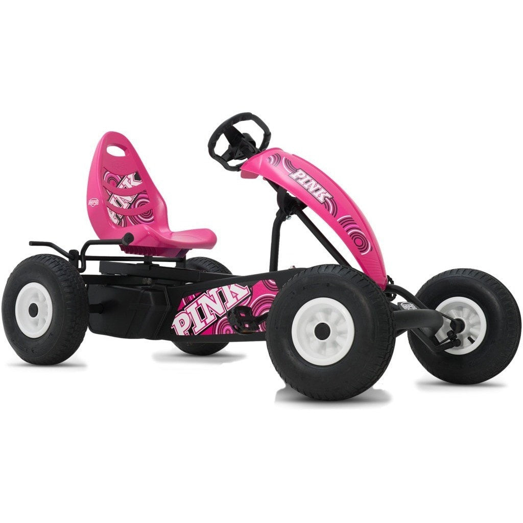 BERG Compact Pink BFR Kids Ride On Pedal Kart For Girls