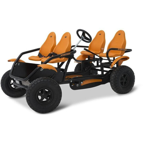 BERG Gran Tour F Off Road 4-Seater Family Ride On Pedal Kart - Kids Car Sales