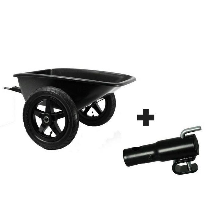 BERG With Towbar BERG Junior Trailer 24.20.00.01+16.24.30.00