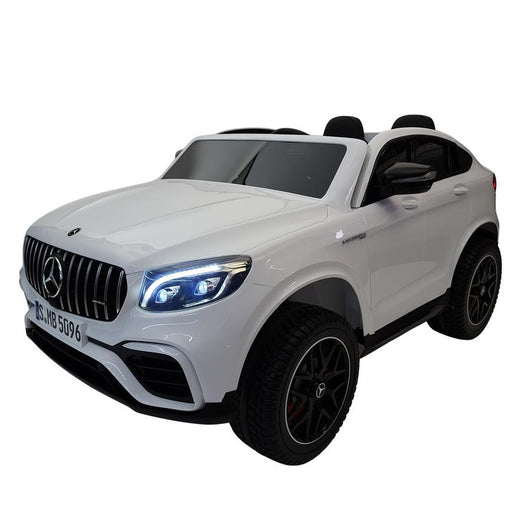 Mercedes Benz GLC 63S White 12v Electric 2 Seats Ride-On Kids Car (Assembled) - Kids Car Sales