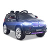 Image of BMW X5 Inspired Black 12v Ride-On Kids Car - Kids Car Sales