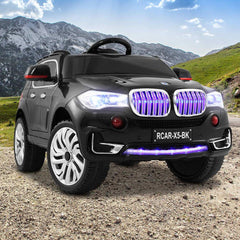 BMW X5 Inspired Black 12v Ride-On Kids Car