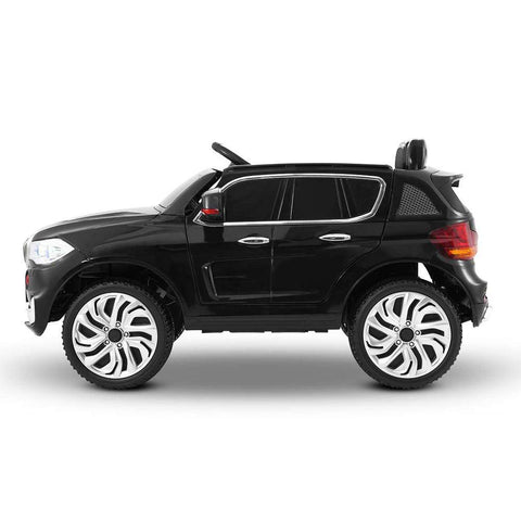 BMW X5 Inspired Black 12v Ride-On Kids Car - Kids Car Sales