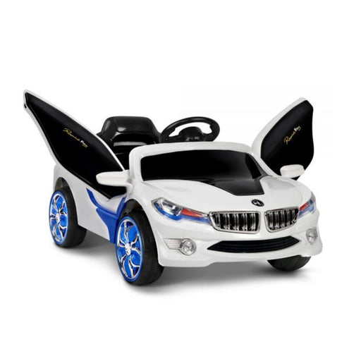 BMW i8 Licensed White 12v Ride-On Kids Car - Kids Car Sales