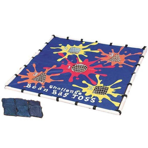 Bean Bag Toss Target Game & Stand with 6 Bean Bags - Kids Car Sales