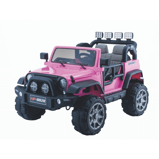 Big 2-Seat Beach-Cruiser 12v Kids Ride-On SUV w/ Remote - Pink - Kids Car Sales