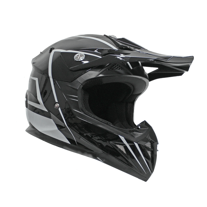 TDRMOTO TRDMOTO Kids Full-Face Motorbike/ATV Helmet