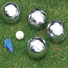 Boules Outdoor Lawn Game in Wooden Case