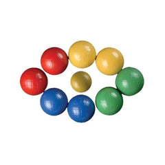 Boules Outdoor Lawn Game with Coloured Balls - Kids Car Sales