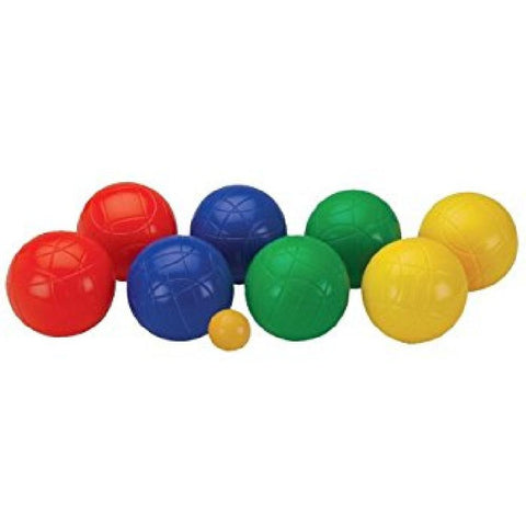 Boules Outdoor Lawn Game with Coloured Balls