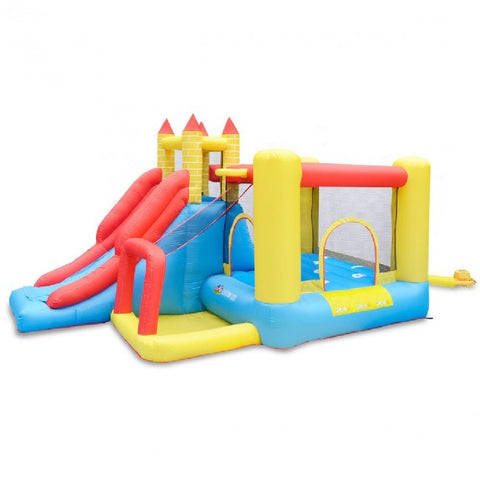 BounceFort Plus 2 Jumping Castle With Slide - Kids Car Sales