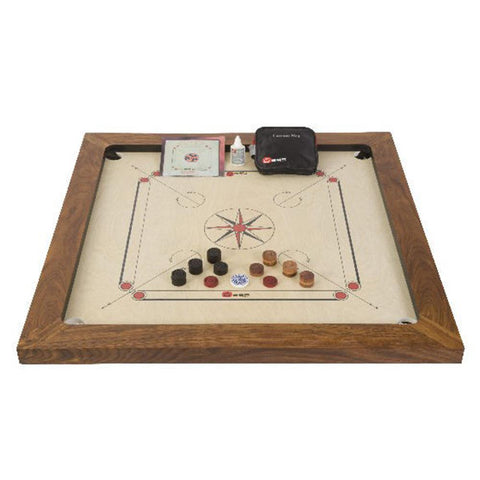 Championship Carrom Board Game Set by Uber
