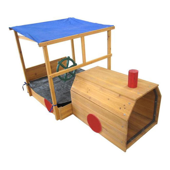 Choo Choo Train Kids Backyard Sandpit - Kids Car Sales