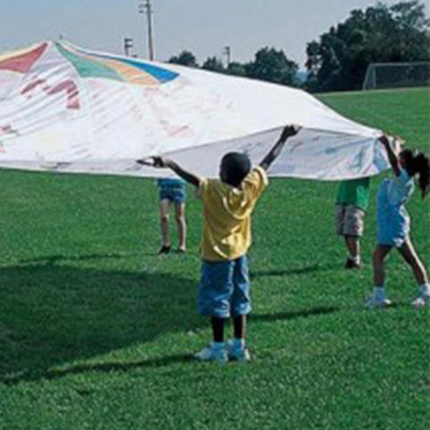 Colour-Me-In White Parachute Play Parachute - Various Sizes - Kids Car Sales