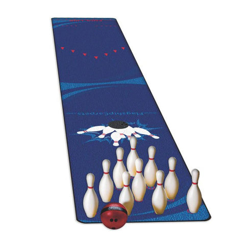 Complete Ten Pin Bowling Set with Pins, 2.2kg Ball & 9m Bowling Carpet - Kids Car Sales