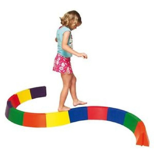 Curved Modular Rainbow Balance Beams - Kids Car Sales