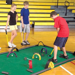 Design Your Own Obstacle Mini Golf / Croquet Billiards Game