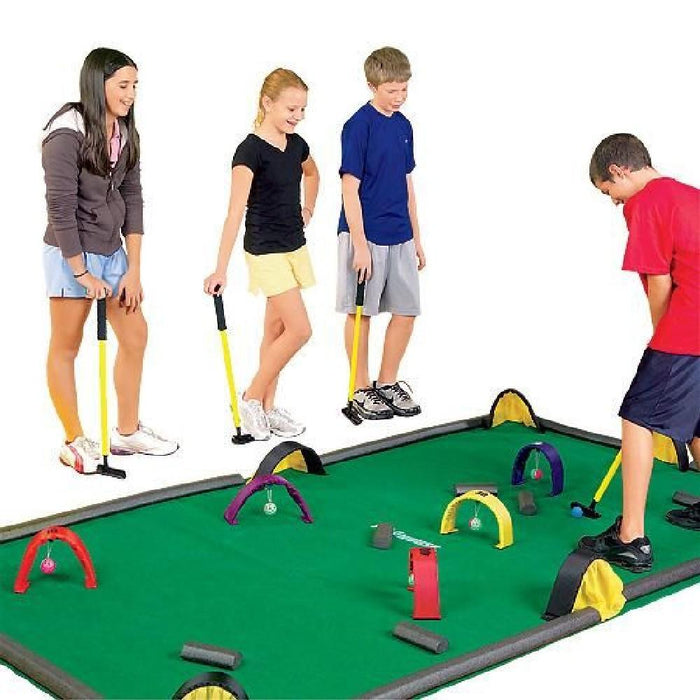 Design Your Own Obstacle Mini Golf / Croquet Billiards Game - Kids Car Sales