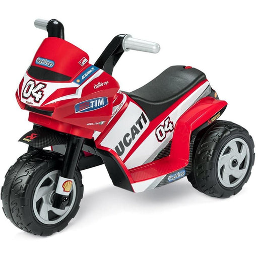 Peg Perego Ducati Mini 6v Kids Ride-On Motorbike - Kids Car Sales