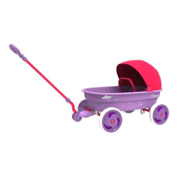 Eurotrike Princess Wagon with Foldable Canopy - Kids Car Sales