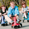 Image of Eurotrike Red Plasmacar Kids Sit-On Scooter