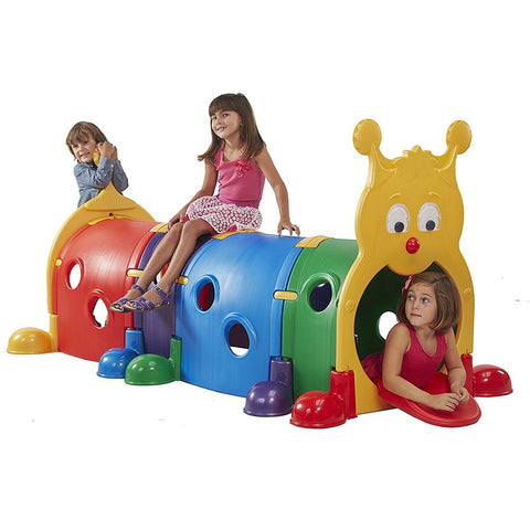 FeberGus Caterpillar Activity Tunnel With 4 Sections - Kids Car Sales