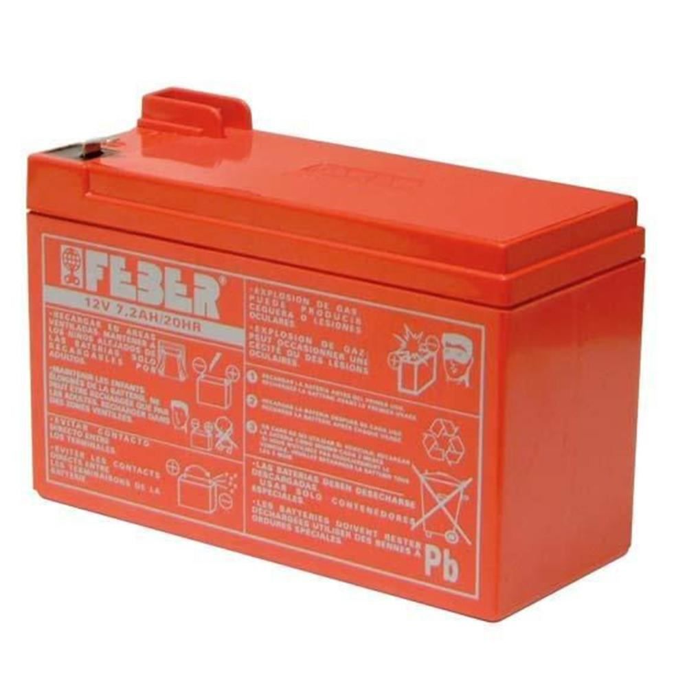 Feber 12v 7.2Ah Replacement Battery - Kids Car Sales
