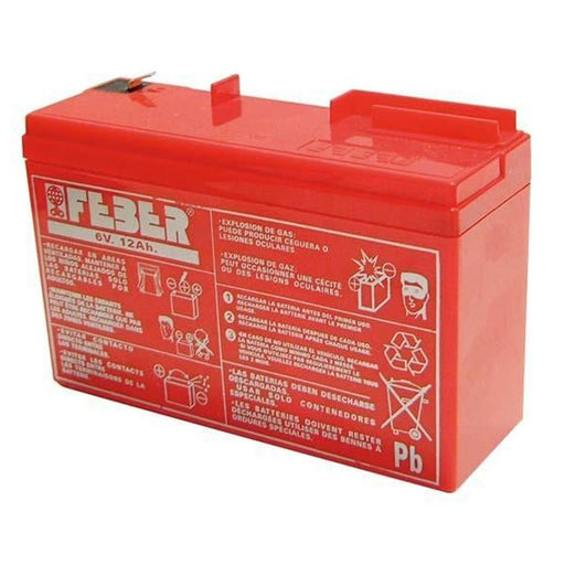 Feber 6v 12Ah Replacement Battery - Kids Car Sales