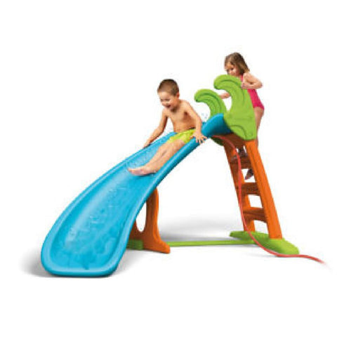 Feber Curved Outdoor Kids WaterSlide with Water Attachment - Kids Car Sales