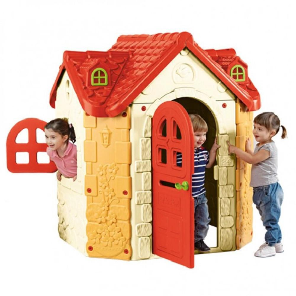 Feber Fancy Manor Playhouse Plastic Durable Kids Cubby House - Kids Car Sales