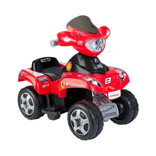 Feber Ferrari Red 6V Ride-On Kids Quad Bike - Kids Car Sales