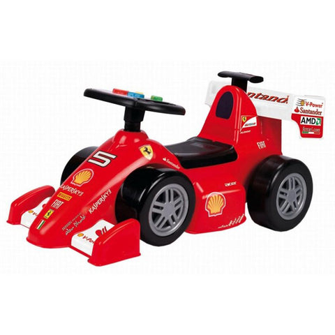 Feber Foot to Floor Ferrari F2012 Ride on Kids Push Car - Kids Car Sales