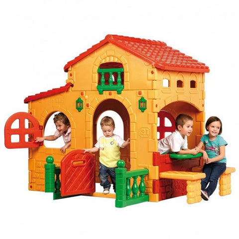 Feber Grande Country Villa Childrens Playhouse - Kids Car Sales