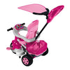 Image of Feber Pink Baby 360 Twist Trike with Handle - Kids Car Sales