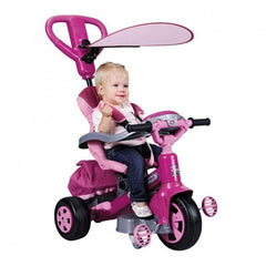Feber Pink Baby 360 Twist Trike with Handle