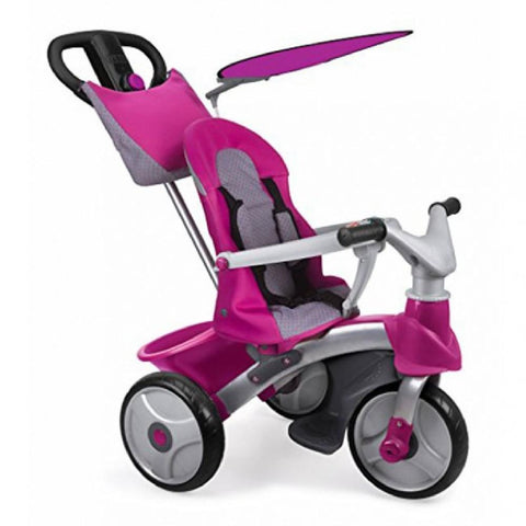 Feber Pink Easy Evolution Baby 3-in-1 Pusher, Trike & Balance Bike - Kids Car Sales