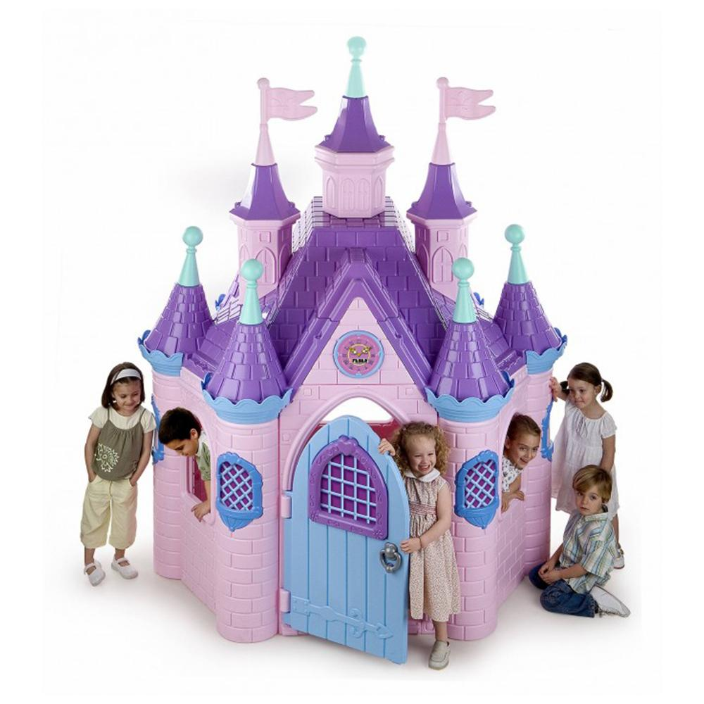 Feber Princess Super Barbie Palace Plastic Durable Kids Cubby House - Kids Car Sales