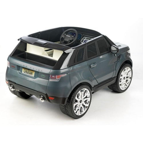 Feber Range Rover Sport Grey 12v Two Seat Ride-On Kids Car - Kids Car Sales