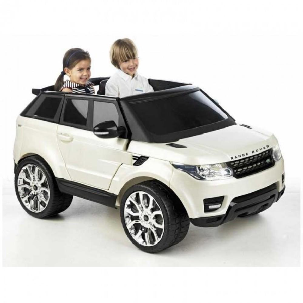 Feber Range Rover Sport White 12v Two Seat Ride-On Kids