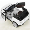 Image of Feber Range Rover Sport White 12v Two Seat Ride-On Kids Car - Kids Car Sales