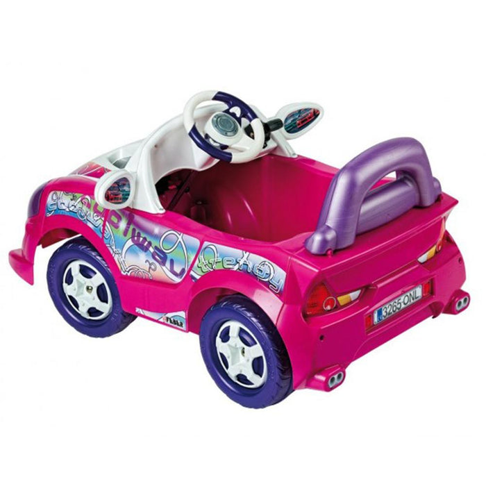 Feber Trendy Roadster Pink 6v Single Seat Ride-On Kids Car - Kids Car Sales