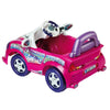 Image of Feber Trendy Roadster Pink 6v Single Seat Ride-On Kids Car - Kids Car Sales