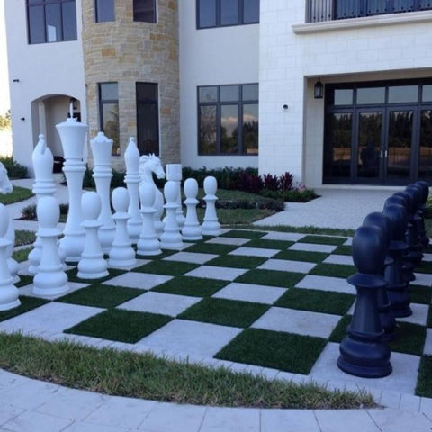 Fibreglass Resin 180cm Lifesize Chess Set - Kids Car Sales