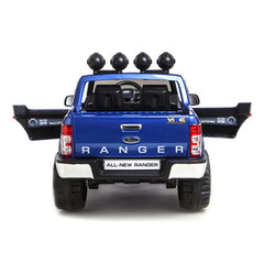 Ford Ranger 4x4 Pickup Truck Blue 12v Kids Ride-On Car + Remote