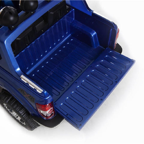 Ford Ranger 4x4 Pickup Truck Blue 12v Kids Ride-On Car + Remote - Kids Car Sales