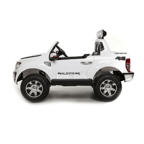 Ford Ranger Pickup Truck White 12v Kids Ride-On Car + Remote - Kids Car Sales