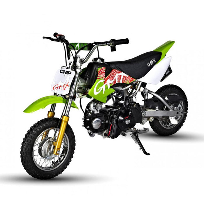 GMX Green GMX Chip 50cc Petrol-Powered 4-Stroke Dirt Bike GE-PU50-GEN